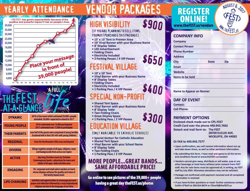 FEST 2017 Vendor