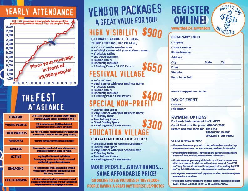 FEST16 Vendor Brochure