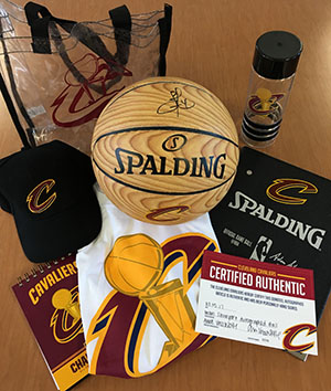 Cleveland Cavaliers Prize Package in Man Cave