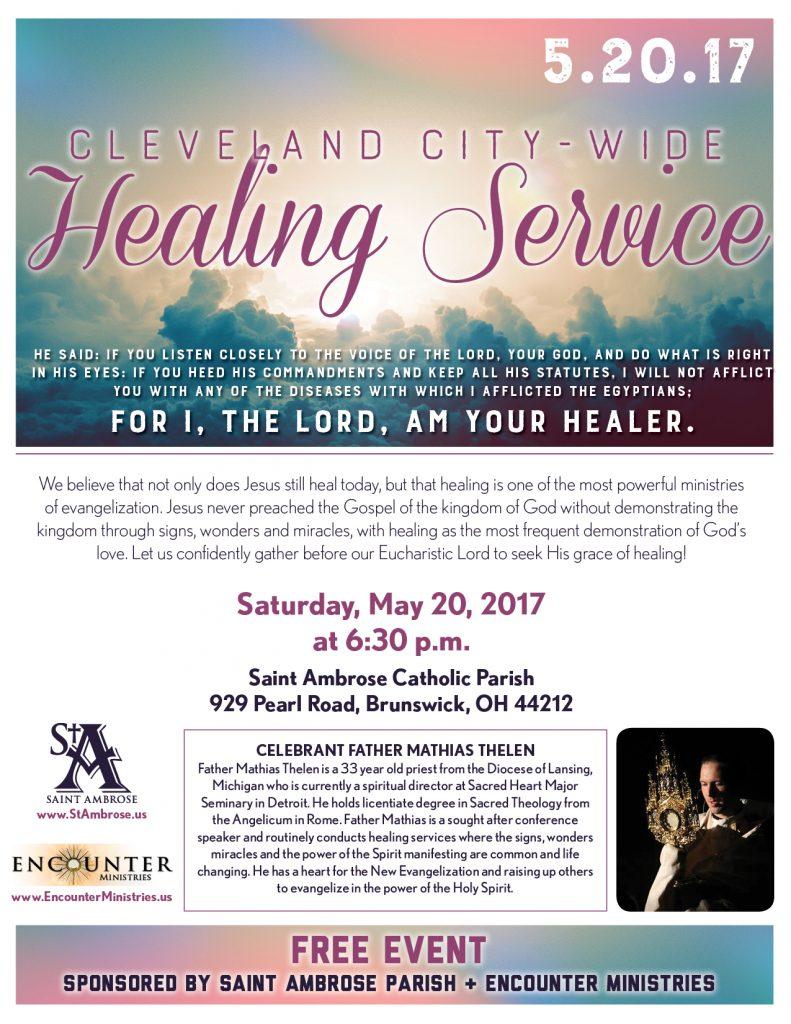 SA17 Healing Service